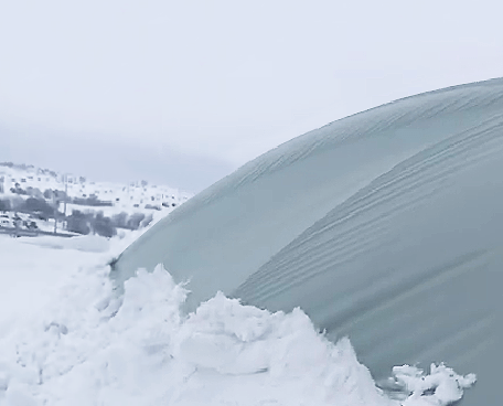 What to do for airblown roofs in case of snow & wind